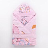婴儿抱被秋冬春秋季婴儿抱被夹薄棉款夏季空调房抱被宝宝襁褓巾新生儿包被睡袋wk-50