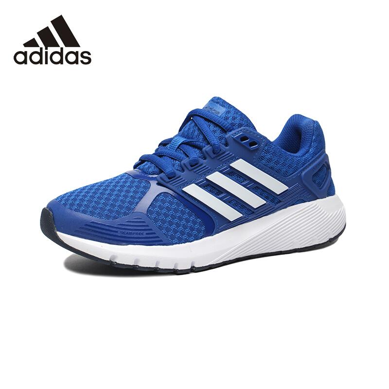 阿迪达斯(adidas)童鞋舒适轻便跑步鞋跑步鞋男童女童运动鞋CQ1806 蓝/学院蓝