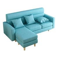 【旗舰精品】北欧布艺沙发 现代简约 卧室双人三人沙发客厅小户型简易沙发单人