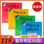 No way系列4册合售This is a Crocodile Kitten Rabbit Pelican英文原版绘本
