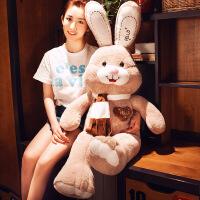 六一儿童节520大号兔子毛绒玩具女生布娃娃公仔可爱睡觉抱枕玩偶女孩萌韩国懒人520礼物母亲节