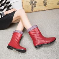 新品秋冬雨鞋女士中筒水鞋加绒雨靴女防滑套鞋胶鞋时尚保暖防水靴