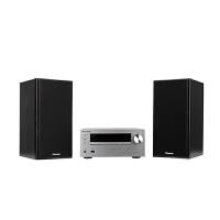 X-HM301V-S 先锋 CD/DVD迷你音响组合 30W+30W 支持苹果及USB