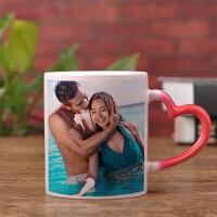 变色杯的定制印照片杯子订做个性可爱情侣礼物陶瓷马克杯创意水杯