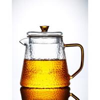 唐丰锤纹玻璃茶壶电热煮茶壶家用功夫泡茶壶办公简约透明冲茶器