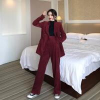 套装女春装2019韩版气质时尚chic小西装外套高腰短裙裤子三件套潮