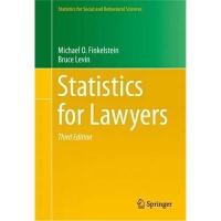 预订Statistics for Lawyers