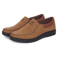 老北京布鞋男款单鞋春秋季男士休闲中老年人透气工装男爸爸鞋