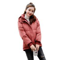 棉衣女冬新款韩版宽松面包服短款 百搭学生女装外套加厚 砖