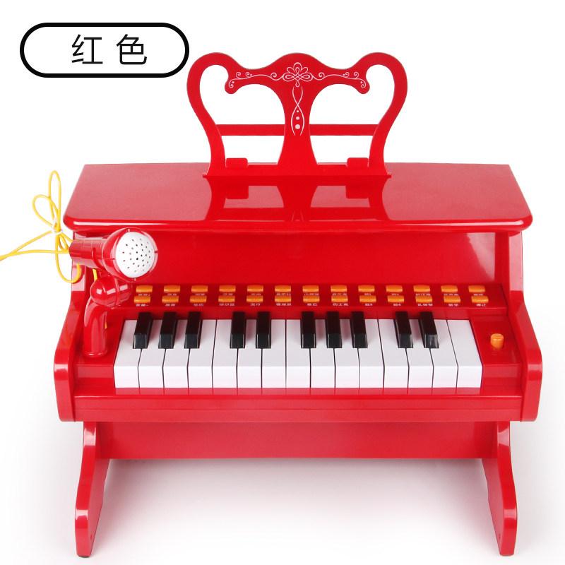 儿童小钢琴电子琴初学玩具1男女孩2婴幼儿3宝宝6岁启蒙入门三 定制类商品请联系客服后再下单,否则本店有权,谢谢配合!