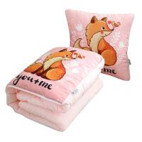 新品秋冬加厚抱枕被子两用床头靠枕 午睡被子幼儿园被车载