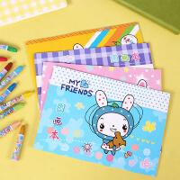 儿童图画本绘画幼儿园宝宝画画本小学生美术空白涂鸦速写纸素描本封面图案*发货3本