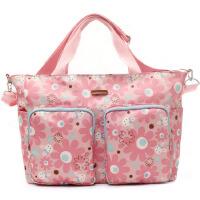 大容量时尚清新防水妈妈包单肩手提斜挎孕母婴包包
