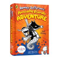 小屁孩外传 小鬼头日记2 英文原版 Rowley Jefferson's Awesome Friendly Advent