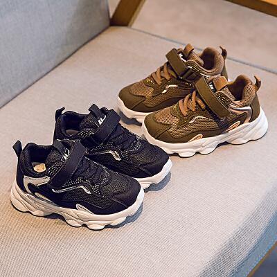 【儿童节限时多件多折:66.5元】回力童鞋旗舰店儿童运动鞋2020春款男童透气网面鞋子女童防滑网鞋 1件2.5折,2件2.1折