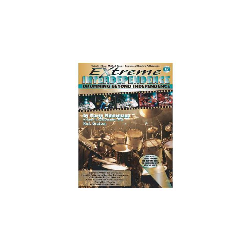 【预订】Extreme Interdependence: Drumming Beyond Independence [With CD (Audio)] 预订商品,需要1-3个月发货,非质量问题不接受退换货。