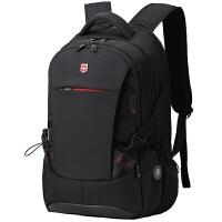 双肩包男士背包旅行包初中学生书包旅游包电脑包