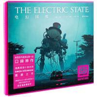 全新正版图书 电幻国度(小女孩与机器人的末日朝圣之旅。《玩家一号》与《黑镜》的结合。画面惊艳、剧情烧脑的视觉小说。 西蒙