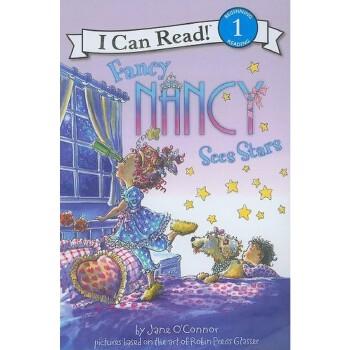 Fancy Nancy Sees Stars (I Can Read Book 1)  有趣的南希看星星