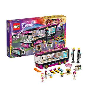 [当当自营]LEGO 乐高 Friends女孩系列 大歌星巡回演出巴士 积木拼插儿童益智玩具 41106