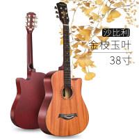 安德鲁38寸民谣初学者入门吉他学生用自学练习木吉他男女生吉它