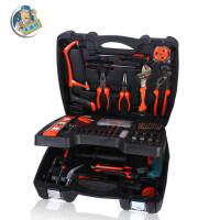 工具套装 家用工具箱电工维修组合套装组套带电钻