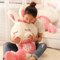 毛绒兔子玩具大号可爱公主公仔小白兔玩偶布娃娃送女生日礼物情人
