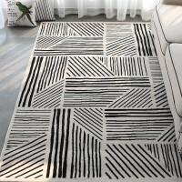 客厅地毯家用 茶几垫 公司商用展会装饰品 轻奢艺术 AB-18 200x280cm 重约21斤