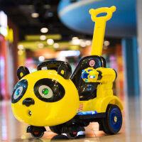 儿童电动车室内摇摆童车四轮带遥控扭扭三轮玩具车可坐人手推汽车zf10