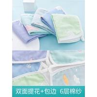宝宝棉小方巾毛巾婴儿用品洗脸巾儿童幼儿10条装婴儿纱布口水巾