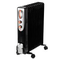 艾美特取暖器 HU1113-W 油汀式取暖器11片电热油汀家用办公室可烘干烘衣三档调节2000W电暖器