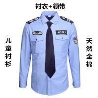 儿童警察服男童小演出服黑猫警长儿童衣服小警察套装童装