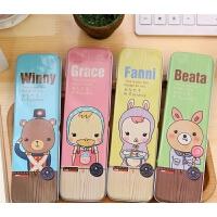 笔袋文具袋铅笔袋韩国小学生奖品儿童学习用品文具盒可爱创意