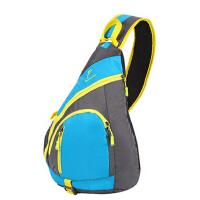 运动单肩包背包运动休闲腰包 男女胸包斜跨包胸前包三角