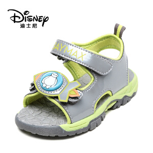 【达芙妮超品日 2件3折】Disney/迪士尼夏季大白魔术贴休闲男童鞋露趾凉鞋1116323480