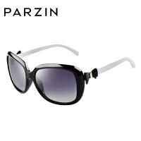 帕森偏光太阳眼镜 女士时尚复古新款蝴蝶结大框司机驾驶墨镜
