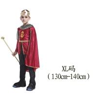 儿童万圣节服装国王王子角色派对舞会装扮cosplay男孩表演出衣服