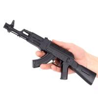 AK47玩具:6迷你合金小枪AUG军事模型M6男孩儿玩具枪礼物水晶弹 标准配置