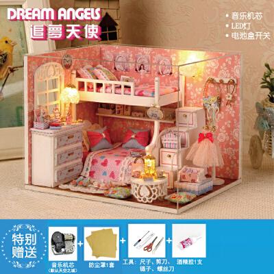 创意手工制作diy女孩礼物女生玩具儿童材料包7 8 9 10 岁