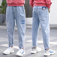 童装男童裤子夏季薄款儿童牛仔裤中大童春秋长裤男孩夏装洋气