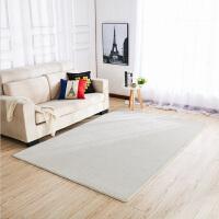 地毯客厅 纯色茶几垫北欧式卧室可爱满铺床边现代简约可水洗定制