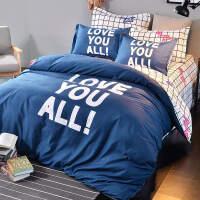 学生宿舍床三件套上下铺单人床1.2m1.5米四件套被套床单3套件