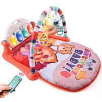 男孩床铃脚蹬玩具脚踩琴脚踢婴儿健身架器脚踏钢琴女宝宝