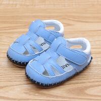 男女宝宝学步鞋凉鞋夏季0-2岁儿童宝宝学步软底鞋凉鞋
