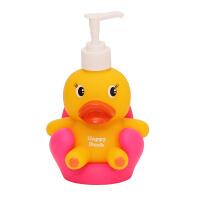 儿童卡通按压瓶乳液器分装瓶子皂液器洗手液瓶沐浴露洗发水洗面奶