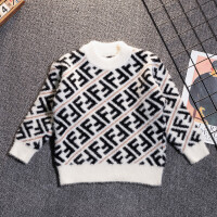 2019秋冬季新款套头衫洋气男孩针织衫上衣儿童男童毛衣打底衫