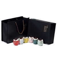 (仅包装盒)茶叶包装盒空礼盒通用35两红普洱岩茶小种金骏眉陶瓷罐定制