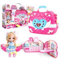 换装娃娃套装 女孩公主城堡别墅大礼盒仿真洋娃娃玩具3-7岁