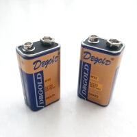 儿童玩具对讲机专用9V电池九伏叠层方电池形碳性万用9伏电池一对2