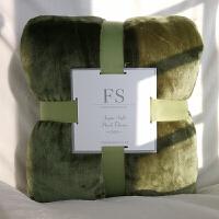 夏天盖毯空调毯双人毛毯被子珊瑚绒毯子夏季单人薄床单1.8m床定制